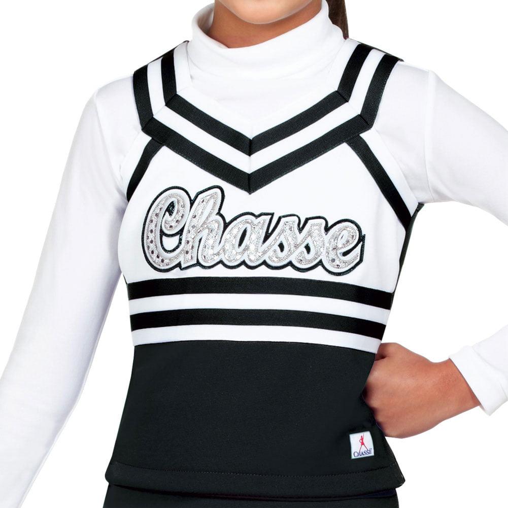 590878b9e3e Chasse - Double Knit Sweetheart Cheer Uniform Shell Top - Youth Girls Sizes  - Walmart.com