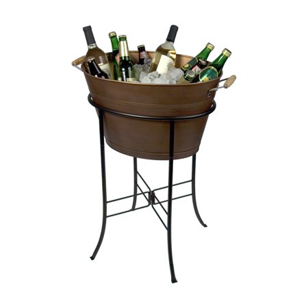 Artland Inc. Oasis Copper Oval Party Tub
