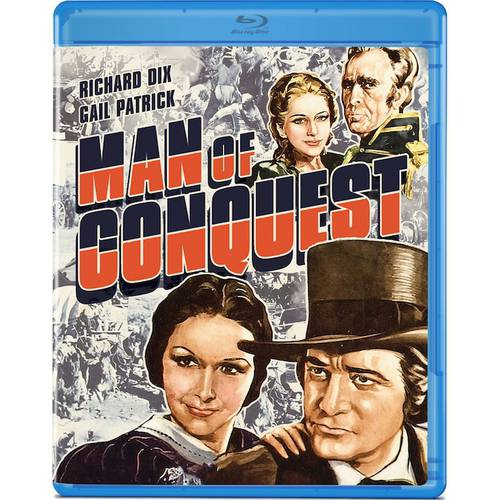 Man Of Conquest (Blu-ray) (Full Frame)