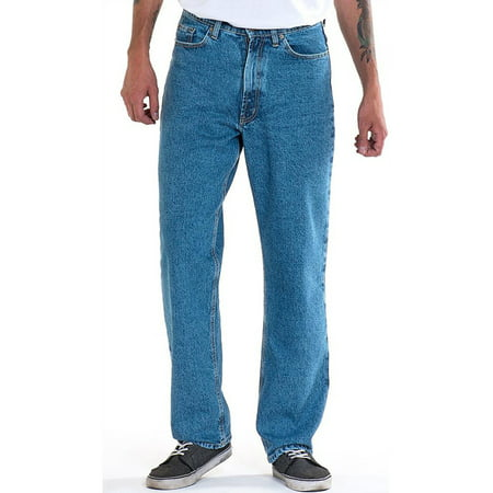 Full Blue Relaxed Fit Jean - Light Stonewash