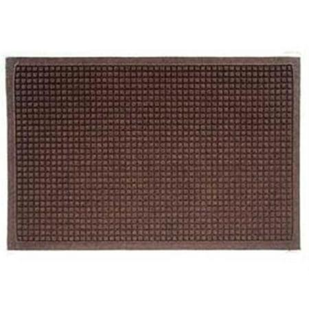 Andersen 280520023 Waterhog Fashion Mat , Dark Brown - 2 x 3 ft.