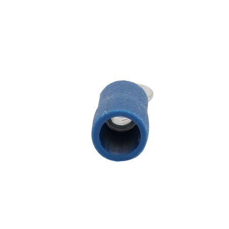 Unique Bargains 500pcs RV2-4S Pre Insulated Crimp Terminal Connector Blue for AWG 16-14 Wire - image 2 of 3