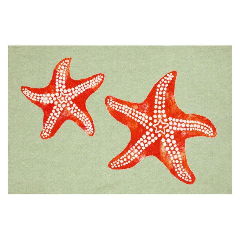 Trans Ocean Import Co Liora Manne Star Fish Indoor Outdoor Doormat by Supplier Generic