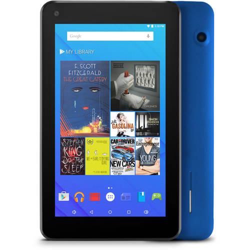 """Ematic EGQ367 with 7"""" Touchscreen Tablet PC Featuring Android 5.1 (Lollipop) Operating System"""