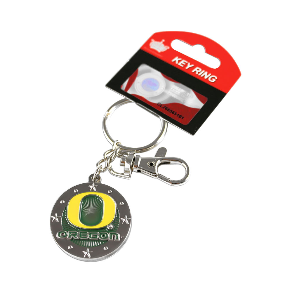 NCAA Oregon Ducks Sports Team Logo Impact Key chain