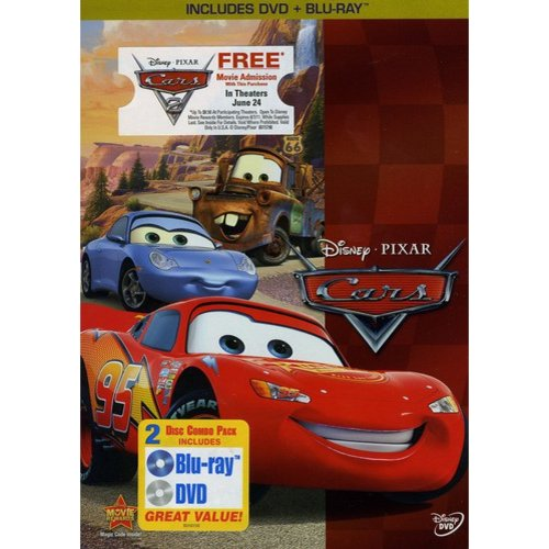 Cars (Blu-ray + DVD) (Widescreen)