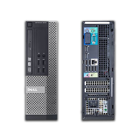 Refurbished - Dell OptiPlex 9010, SFF, Intel Core i5-3570 up to 3.80 GHz, 12GB DDR3, NEW 240GB SSD, DVD-RW, Wi-Fi, USB to HDMI Adapter, NEW Keyboard + Mouse, Win10 Pro 64 - image 2 of 3