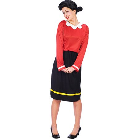 Olive Oyl Adult Halloween - Couples Halloween Costumes Popeye And Olive Oyl