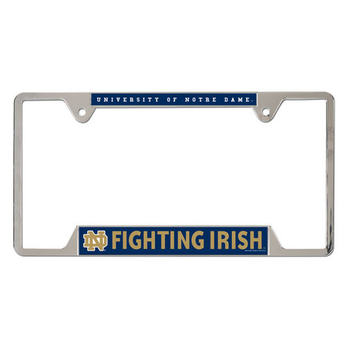 NCAA - Notre Dame Fighting Irish Metal License Plate Frame