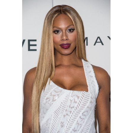 Laverne Cox At Arrivals For The Daily Front Row Third Annual Fashion Media Awards Canvas Art     16 X 20