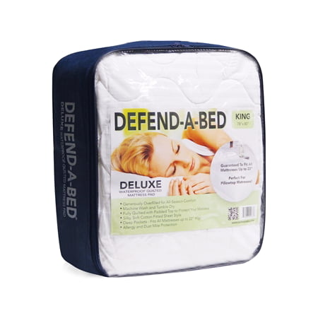 Defend A Bed Deluxe Quilted Waterproof Mattress Protector