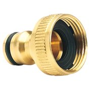 Siaonvr Brass Garden Hose Tap Connector (3/4) Quick Hose Adaptor Accessories