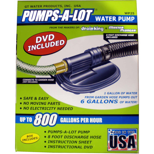 GT Water Products Pumps-A-Lot Water Pump Kit