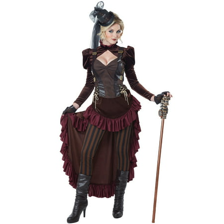 Victorian Steampunk Adult Costume](Steampunk Burlesque Costumes)