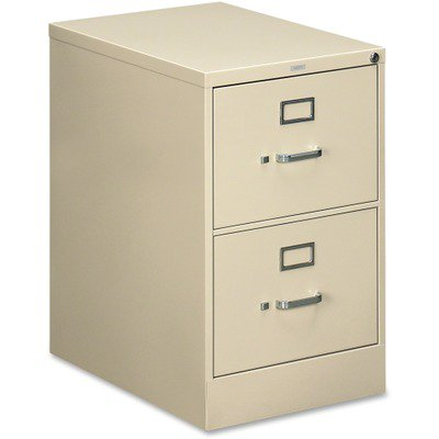 - HON 510 Series Vertical File With Lock HON512CPL