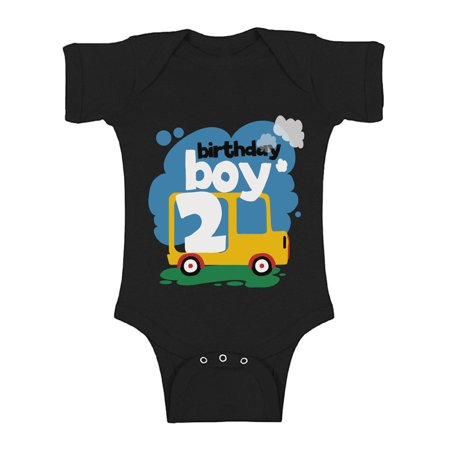 Awkward Styles One Piece for Newborn Car Gifts for Boys Baby Boy Bodysuit Car Gifts for 2 Year Old Boy Car Birthday Boys One Piece Top Baby Boys Outfit 2nd Birthday Party I'm Two Bodysuit for Baby Boy](Gift For Two Year Old)