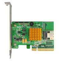Highpoint Rocketraid 2710 Sas Raid Controller - Serial Attached Scsi, Serial Ata/600 - Pci Express 2.0 X8 - Plug-in Card 0, 1, 5, 10, 50, Jbod Raid Level (rocketraid2710)