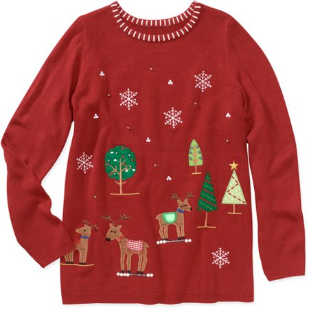 white stag womens plus size christmas sweater