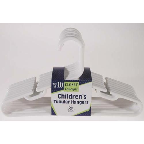 Merrick Children's Tubular Nursery Hanger (Set of 10)