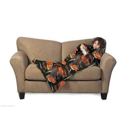 Disney Pixar Cars Blanket/SLEEVES Comfy Throw (Comfy Throw Blanket)