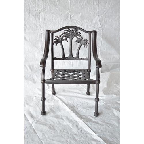 Bayou Breeze Maccharles Patio Dining Chair with Cushion