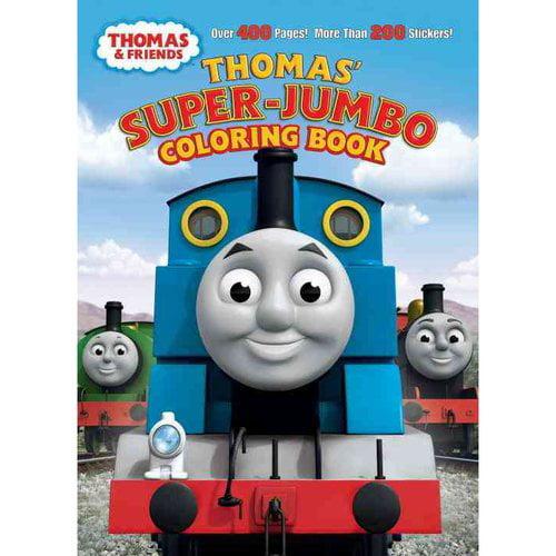 Thomas' Super-Jumbo Coloring Book (Thomas & Friends)