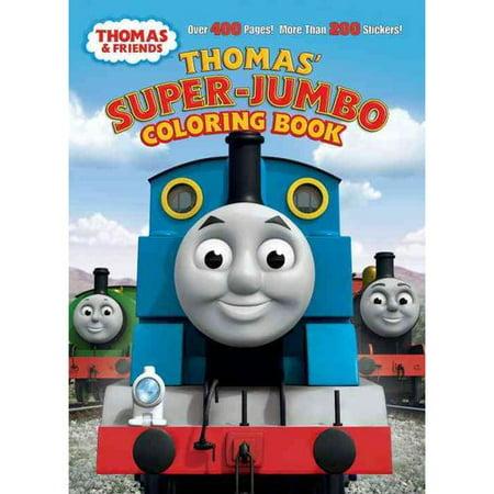 Thomas\' Super-Jumbo Coloring Book (Thomas & Friends) - Walmart.com