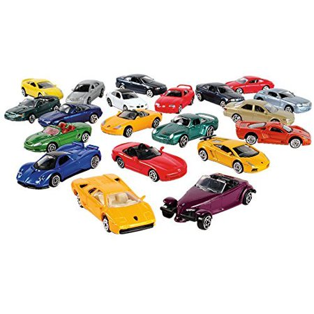 CP Toys 20 pc  3 inch Replicated Die Cast Authentic Super Wheels Classic  Metal Cars