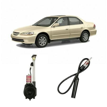 Honda Accord 1990-2002 Factory OEM Replacement Radio Stereo Powered Antenna Mast Honda Accord Antenna Mast