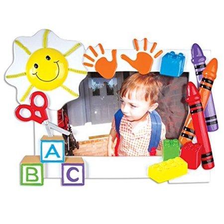 Daycare Preschool Frame Personalized Tree Ornament ()