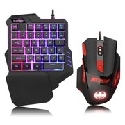 Best Mini Mechanical Keyboards - One Handed Keyboard, One-Handed Mechanical Gaming Keyboard RGB Review