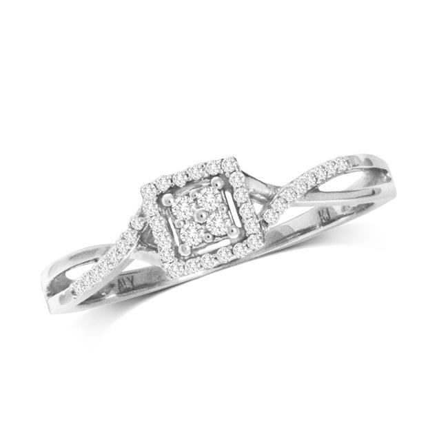 Star Significance 59743W 10K 0.10 Carat Diamond Promise Ring - image 1 of 1