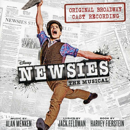 Newsies The Musical Soundtrack (Original Broadway Cast Recording) (CD)
