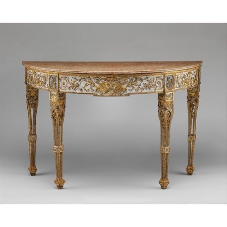 Console Table Poster Print By Attributed To Giuseppe Maria Bonzanigo  18 X 24
