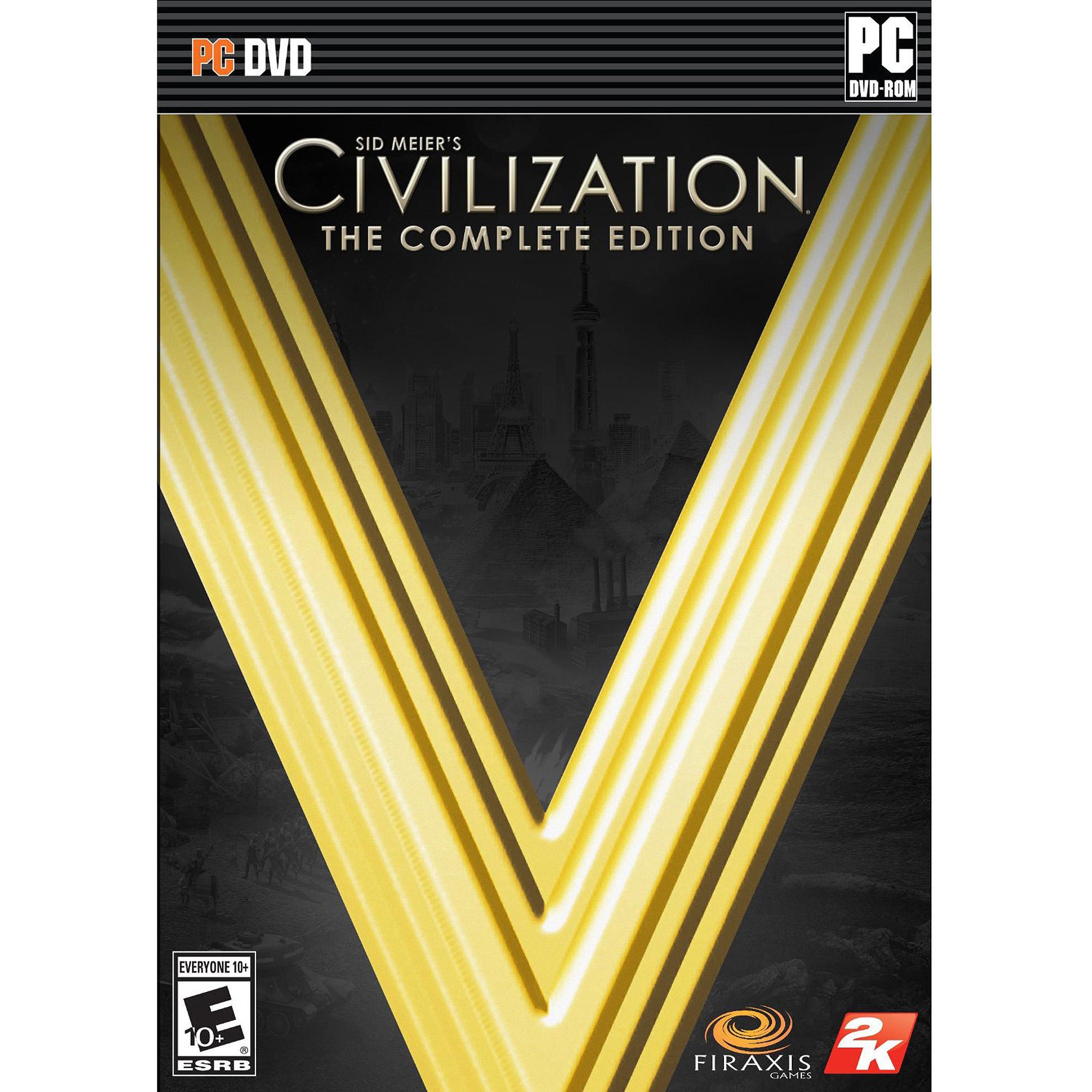 Civilization V: Complete Edition (Digital Code) (PC)