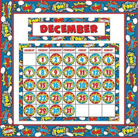 SUPERHERO CALENDAR SET - Superhero Calendar