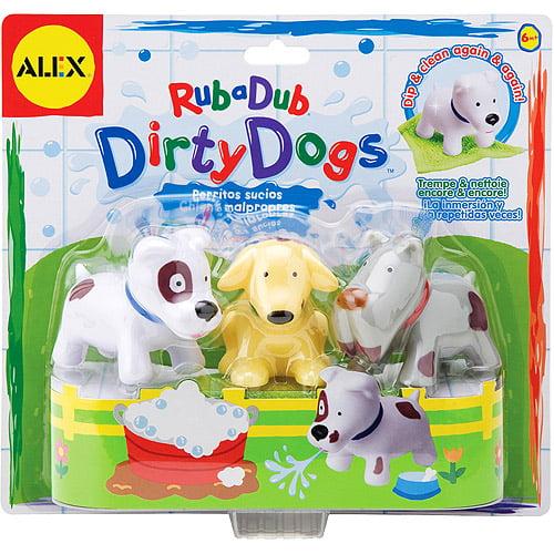 Alex - Rub a Dub Dirty Dogs Bath Toys