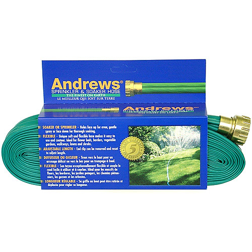 Andrews 10-12349 100' 2 Tube Sprinkler & Soaker Hose