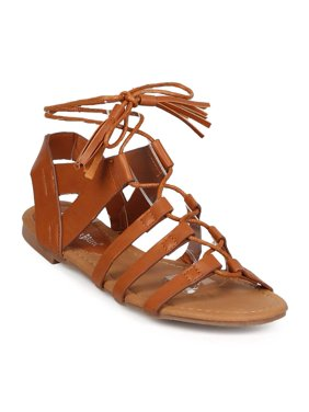 f184ffcf54c4 Product Image New Women Nature Breeze Dock-02 Leatherette Open Toe  Slingback Gladiator Sandal