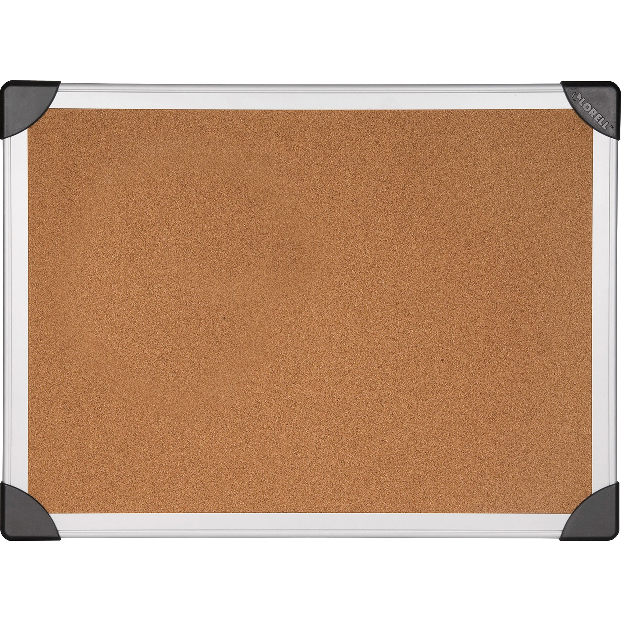 Lorell, LLR19193, Mounting Aluminum Frame Corkboards, 1 Each
