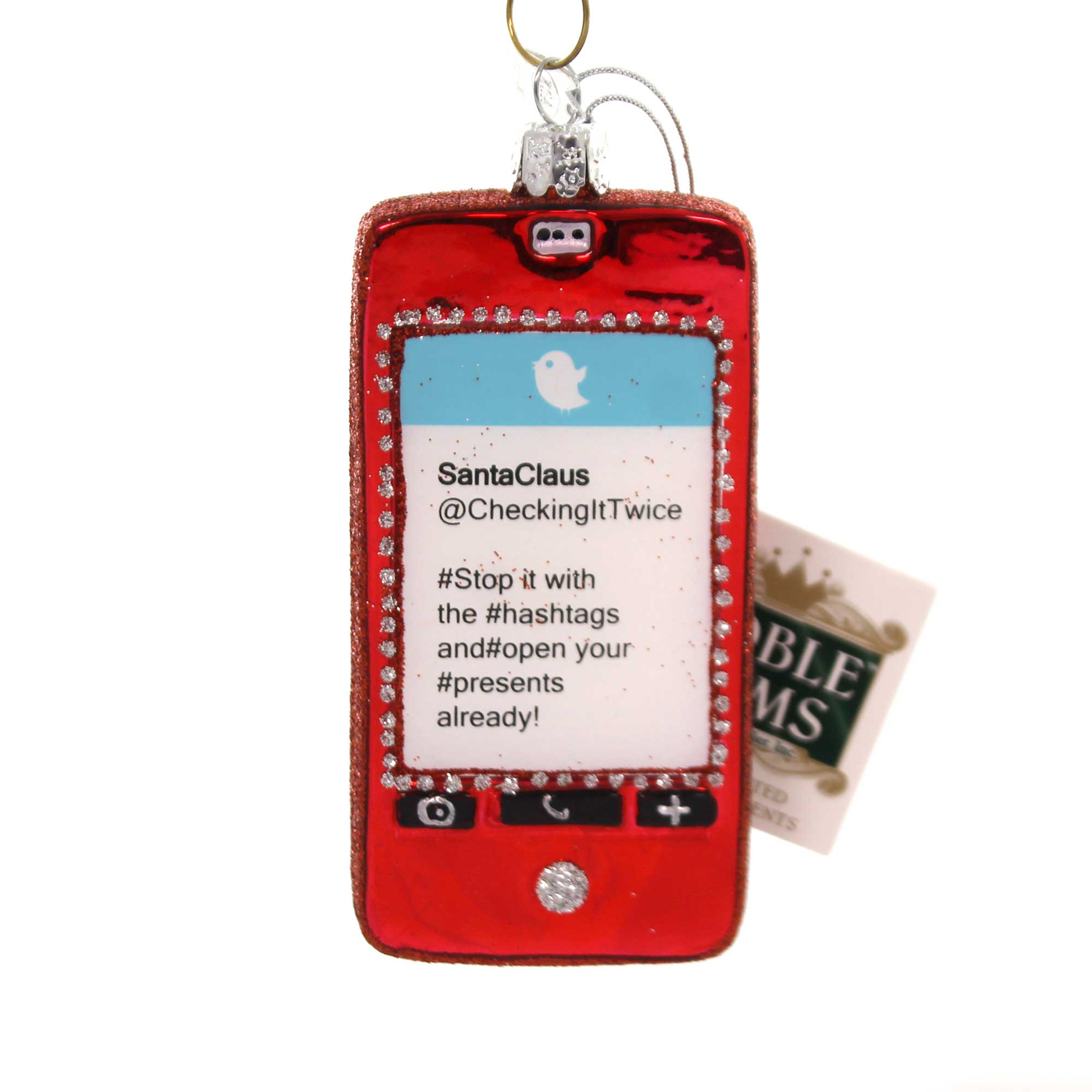Noble Gems SMART PHONE Glass Text Alarm Apps Email