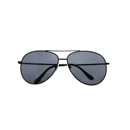 Metal Sunglasses Classic Aviation X-Large Size Spring Hinge Temple (Aviation Sunglasses Review)