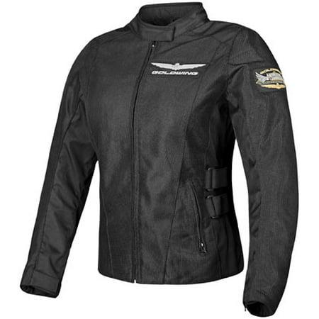 Honda Collection Gold Wing Mesh Touring Womens Jacket Black XL  549510 - Michael Jackson Black And Gold Jacket