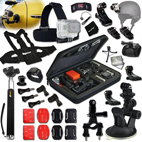 Xtech® MOTORSPORTS ACCESSORIES Kit for GoPro Hero 4 3+ 3 ...