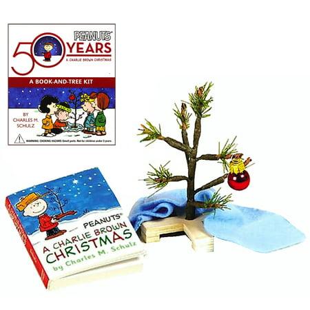 Charlie Brown Christmas 50th.Peanuts 50th Anniversary Charlie Brown Christmas Tree Miniature Deluxe Mega Kit 3