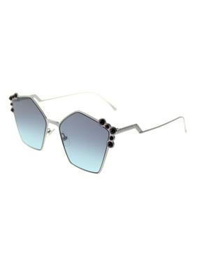 ae7a9ad4f25b Product Image sunglasses fendi ff 261  s 06lb ruthenium   jf blue aqua lens
