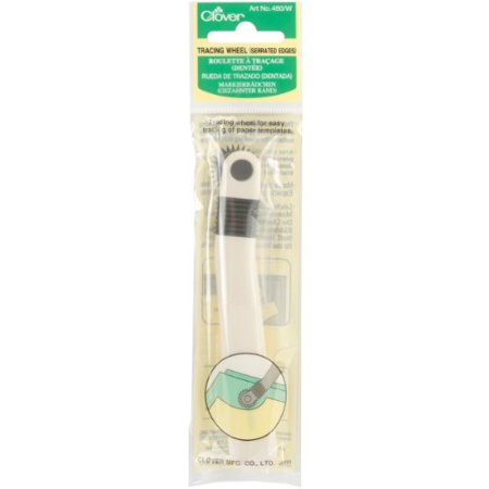 Clover Tracing Wheel Serrated