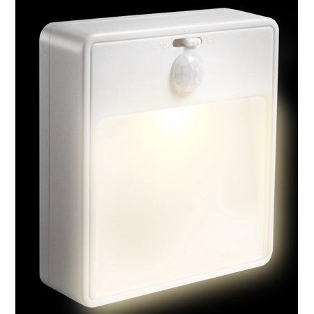 Motion Sensor Light Fosmon Battery Ed Led Stick Anywhere Detector Security Night
