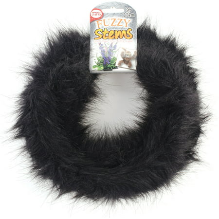 Fuzzy Stem 9' - Black](Scrapbook Materials)