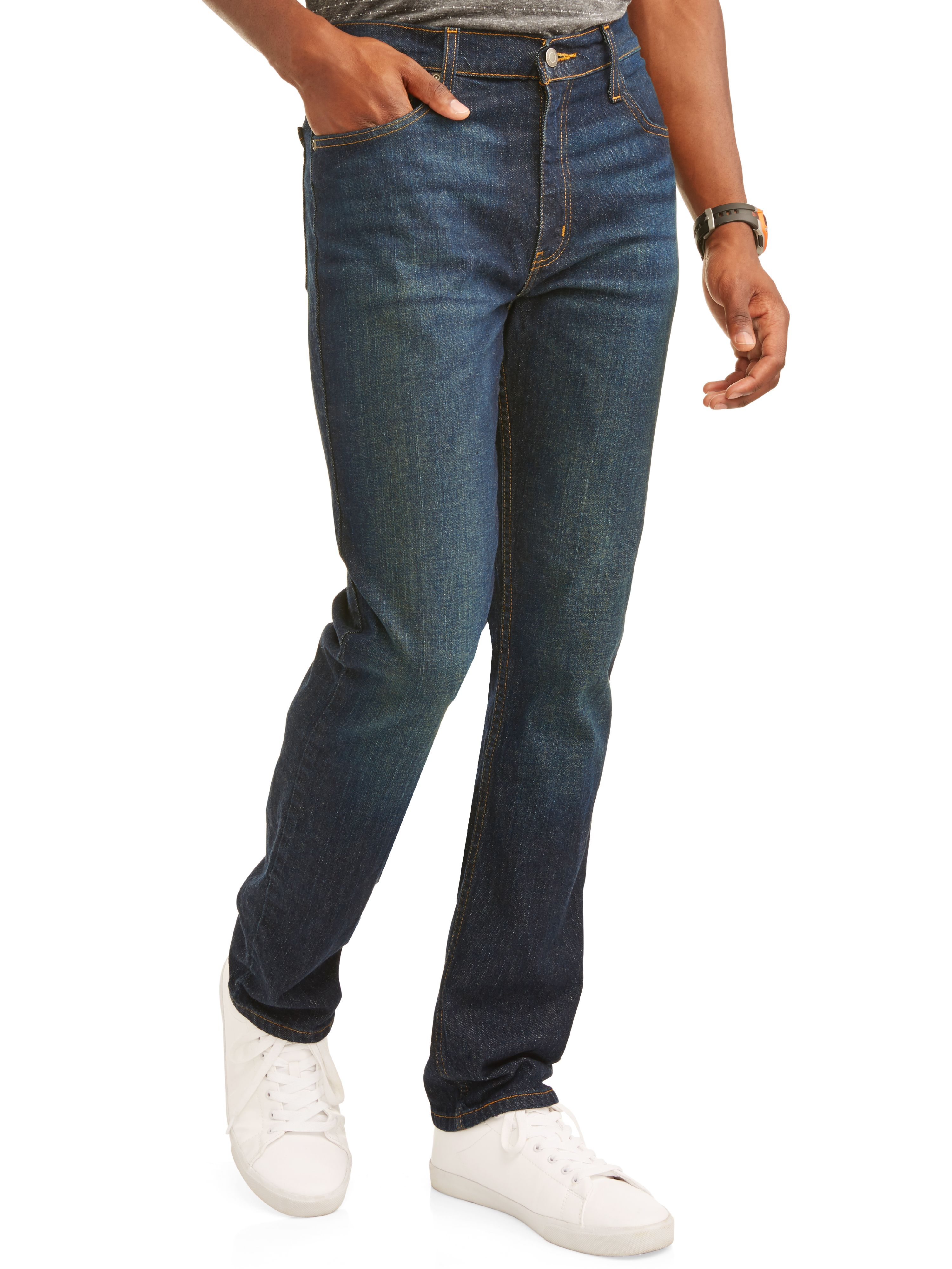 Essentials Boys Stretch Straight-Fit Jeans Jeans